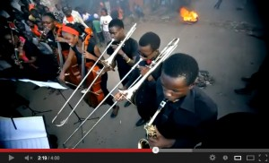 """Kenyan music video for """"Mungu Baba,"""" a song that expresses """"All we want in Kenya is peace during elections."""""""