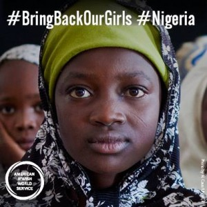 AJWS #BringBackOurGirls social media post, May 2014