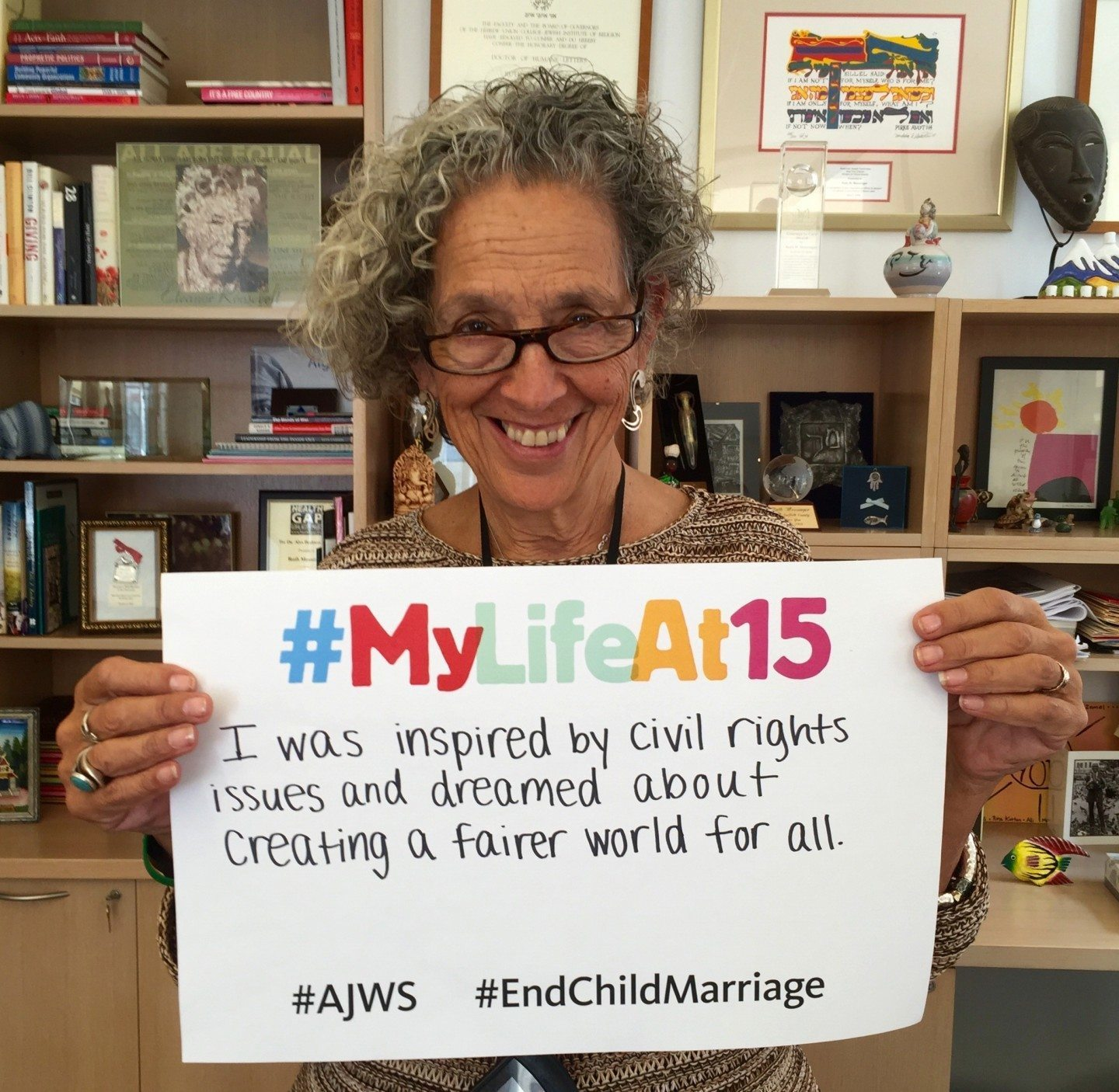 AJWS President Ruth Messinger