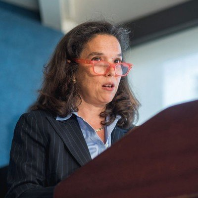 """AJWS's Vice President for Programs Shari Turitz introduced the """"Child Marriage: Emerging Trends in the Media"""" event on October 7, 2015."""
