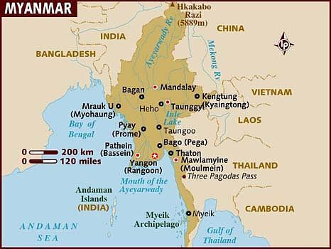 map-of -myanmar