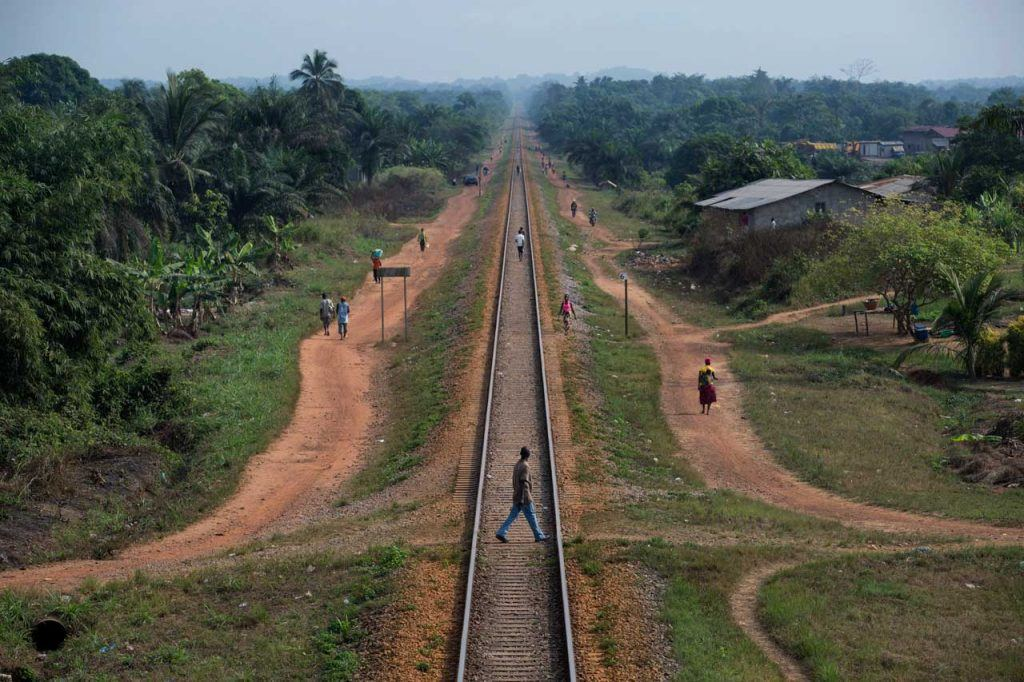 A railroad connects ArcelorMittal's iron ore mine in Nimba County with the port of Buchanan in Grand Bassa County. Under the terms of their agreement with the Government of Liberia, ArcelorMittal is required to contribute a total of $3 million per year to the County Social Development Funds of Nimba, Bong and Grand Bassa Counties. The funds are supposed to be used for projects to benefit local citizens.
