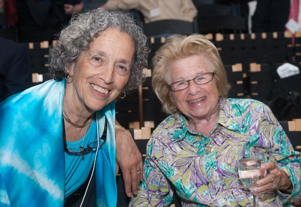 Ruth and Dr. Ruth Westheimer, sex therapist, media personality and author.