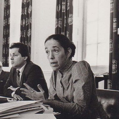 Ruth Messinger while serving as a New York City Councilwoman in 1987