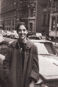Ruth Messinger on the Upper West Side of Manhattan in the 1960s.