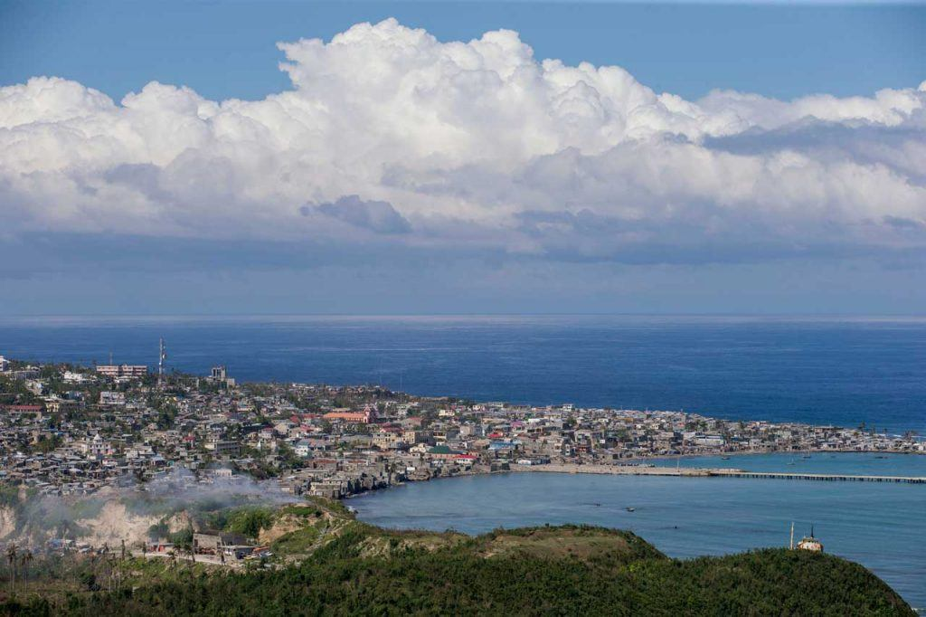 The city of Jérémie in Haiti's Grand'Anse Department sustained major damage during Hurricane Matthew. The city sits right on the coast. Photograph by Jonathan Torgovnik