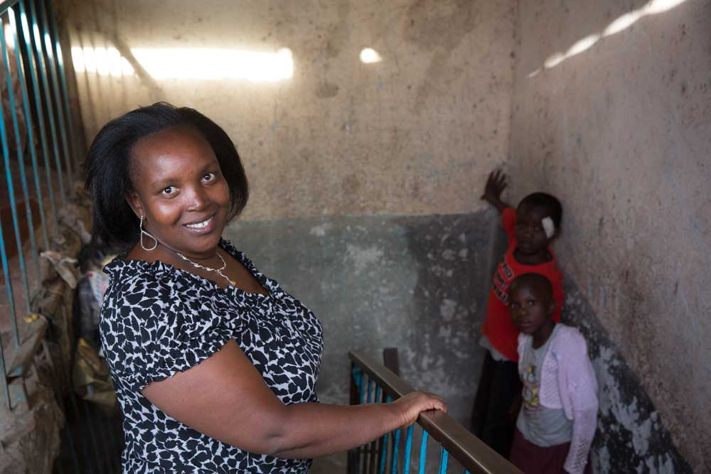 Peninah Mwangi of Bar Hostess Empowerment and Support Programme in Kenya. Photo by Mark Tuschman.