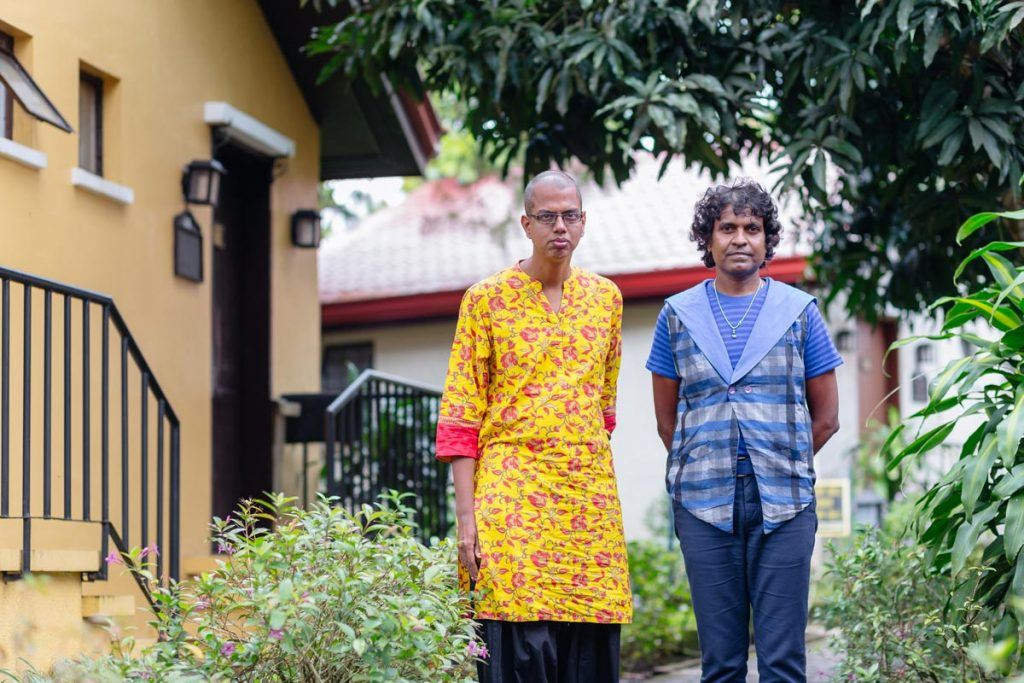 Delfina (left) and Sivakumar (right) ensured that Chennai's LGBT community was not forgotten during heavy floods in the city. The pair believes that the knowledge they have gained from the AJWS workshop will help them become more effective advocates at home. Photo by Ben Beringuela